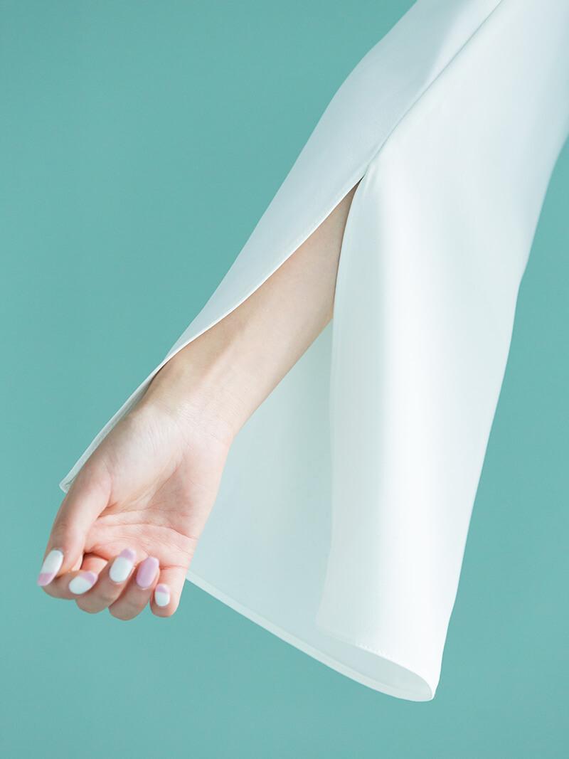 race layered blouse