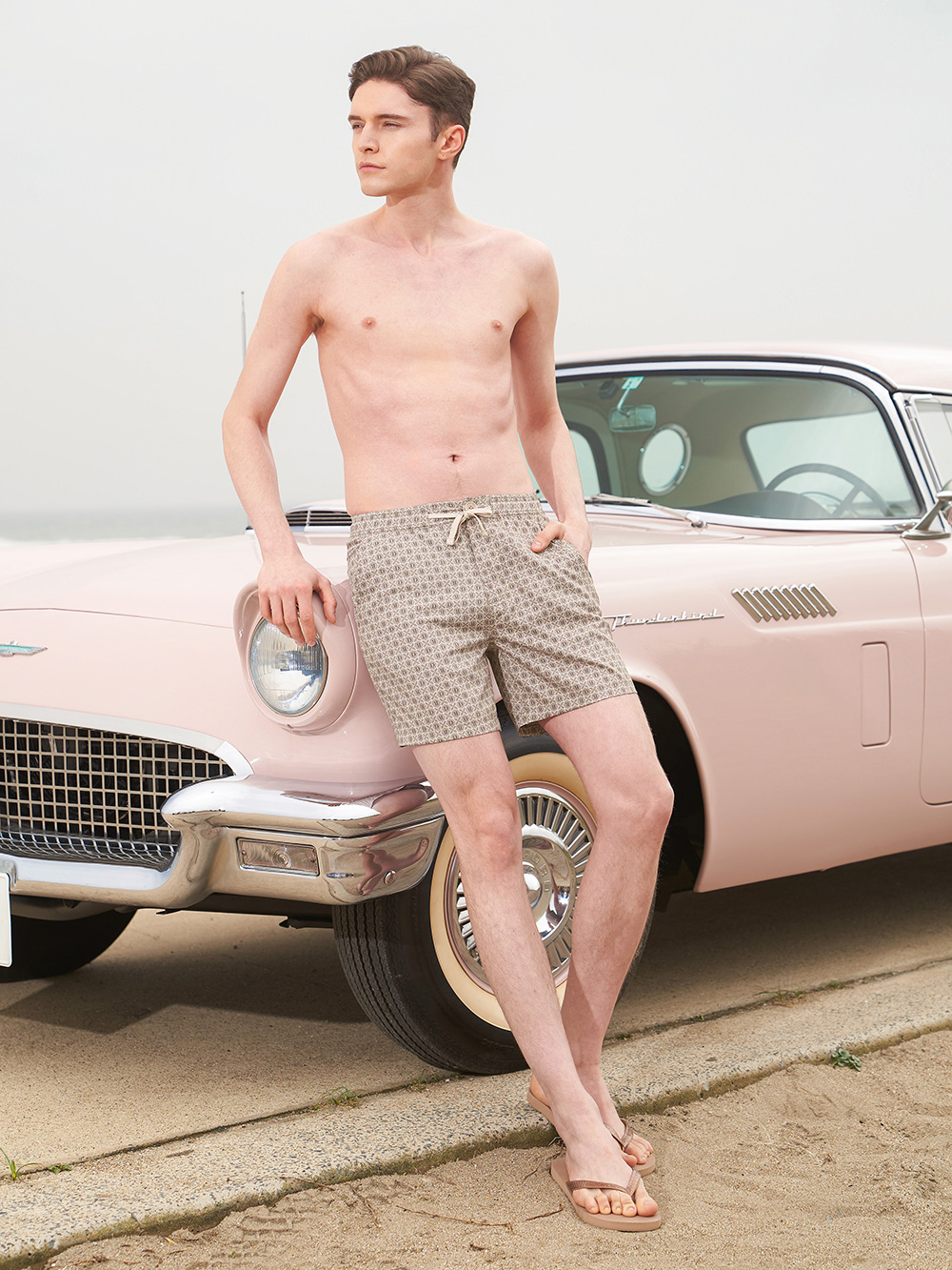 Austin DR mocha board shorts