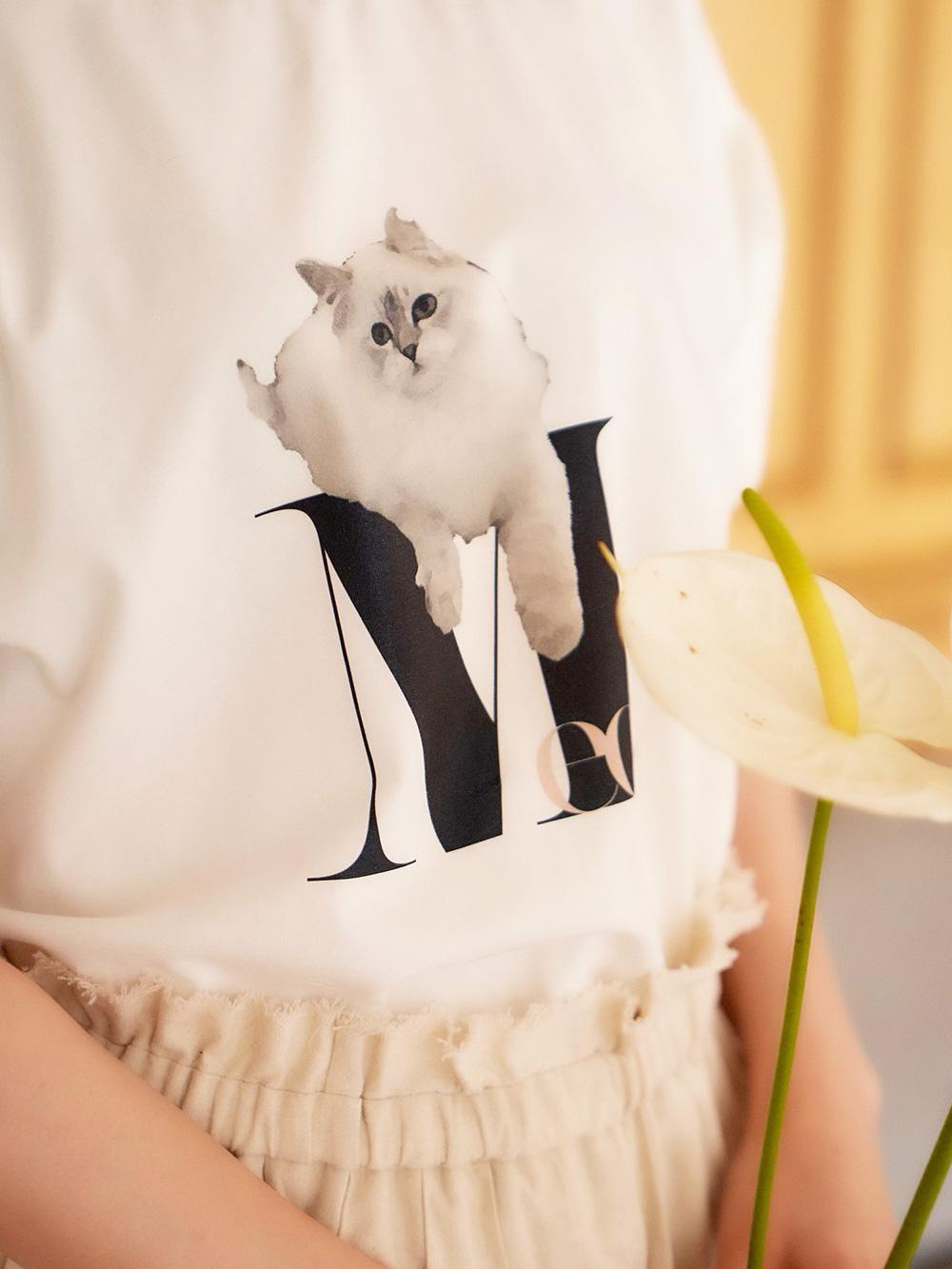 ニュアンスTシャツ