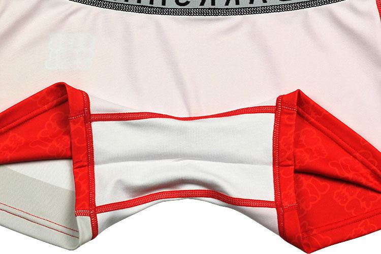 DARKSHINY ×まるまるマヌル コラボ ユニセックスボクサーパンツ - マヌル赤