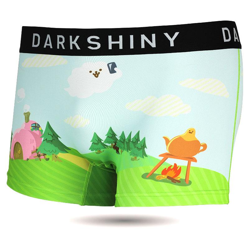 DARKSHINY ×ぽっこりーず コラボ ユニセックスボクサーパンツ - ぽっこり島