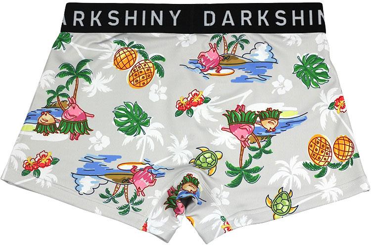 DARKSHINY×ぽっこりーず コラボ ユニセックスボクサーパンツ - Hawaian ハワイアン