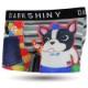 DARKSHINY ×oharasou 大原そう コラボ ユニセックスボクサーパンツ - HAPPY French bulldog ハッピーフレンチブルドッグ