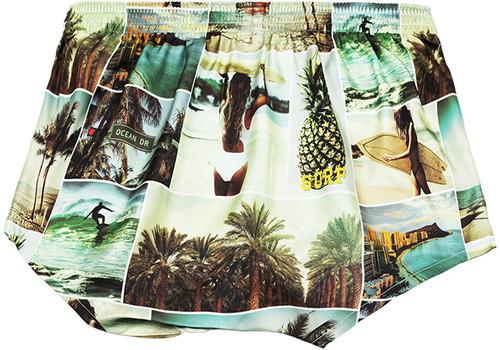 Men's Silk  Trunks -SUMMER PHOTOGRAPH