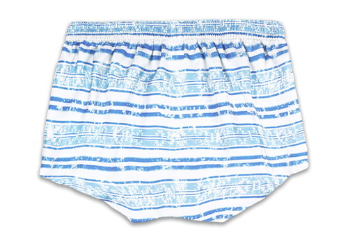 Men's Silk  Trunks -BORDER