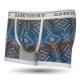 メンズ スウェットボクサーパンツ - ETHNIC Blue エスニックブルー