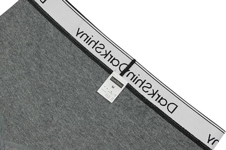 【3月22日(月)より順次出荷】レディース コットンクラシック ボクサーパンツ - Heather Dark Gray 杢ダークグレー