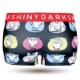 DARK SHINY ×YOSISTAMP ヨッシースタンプ コラボ レディースボクサーパンツ - NEON STAGE ネオンステージ