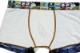 DARKSHINY×YOSISTAMP ヨッシースタンプ コラボ メンズマイクロボクサーパンツ - Denim watermelon デニム スイカ