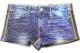 DARKSHINY ×YOSISTAMP ヨッシースタンプ コラボ レディースボクサーパンツ - Denim ice デニムアイス