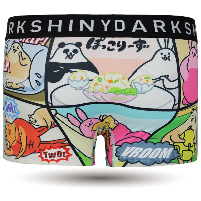 DARKSHINY ×ぽっこりーず コラボ ユニセックスボクサーパンツ - アニメコマ