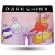 DARKSHINY ×ぽっこりーず コラボ ユニセックスボクサーパンツ - もちつき