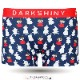 DARKSHINY ×MOOMIN コラボ ユニセックスボクサーパンツ - リトルミイ ネイビー