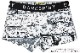 DARKSHINY ×MOOMIN コラボ ユニセックスボクサーパンツ - コミック
