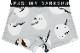 DARKSHINY ×しばさな コラボ ユニセックスボクサーパンツ - シマエナガ