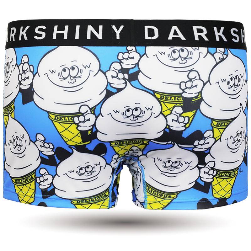 DARKSHINY × Jin1eskimo コラボ ユニセックスボクサーパンツ - Mr.soft C