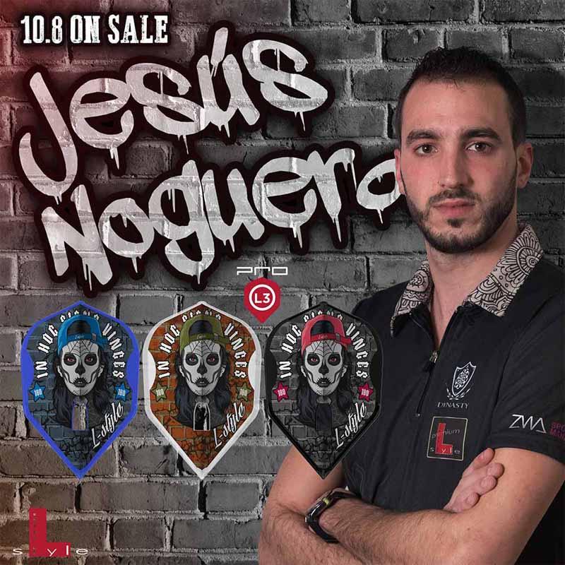 L-style(エルスタイル) L-Flight PRO(エルフライトプロ) Jesus Noguera ver.3 シェイプ Mix ヘスス・ノグエラ選手モデル (ダーツ フライト)