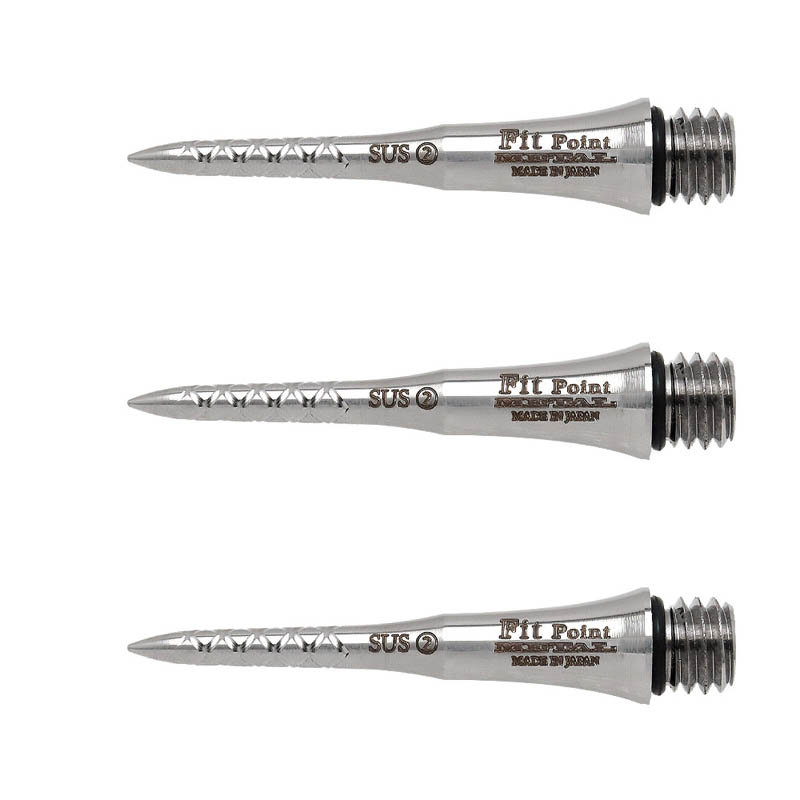 Fit Point METAL CONVERSION POINT ステンレス <-2- Spiral 25mm> (ダーツ コンバージョンポイント)