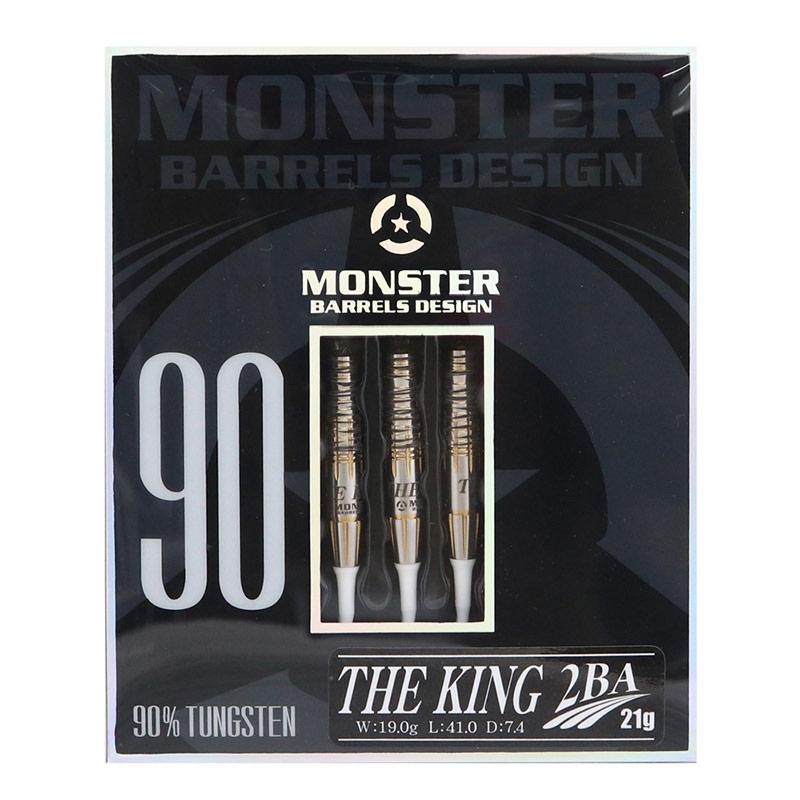 MONSTER(モンスター) THE KING(ザ・キング) 2BA 21g コ・ジュン選手モデル  (ダーツ バレル)