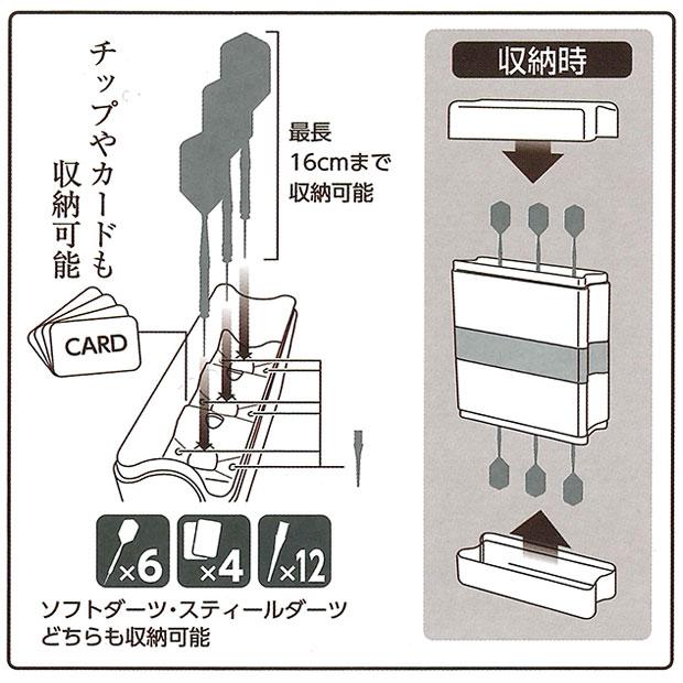 moA(モア) 全知全能ダーツケース (ダーツ ケース)