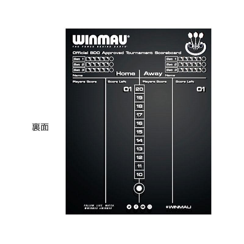 Winmau(ウィンモウ) Dry Wipe Scoreboard(ドライワイプスコアボード) (ダーツ ボード アクセサリ)