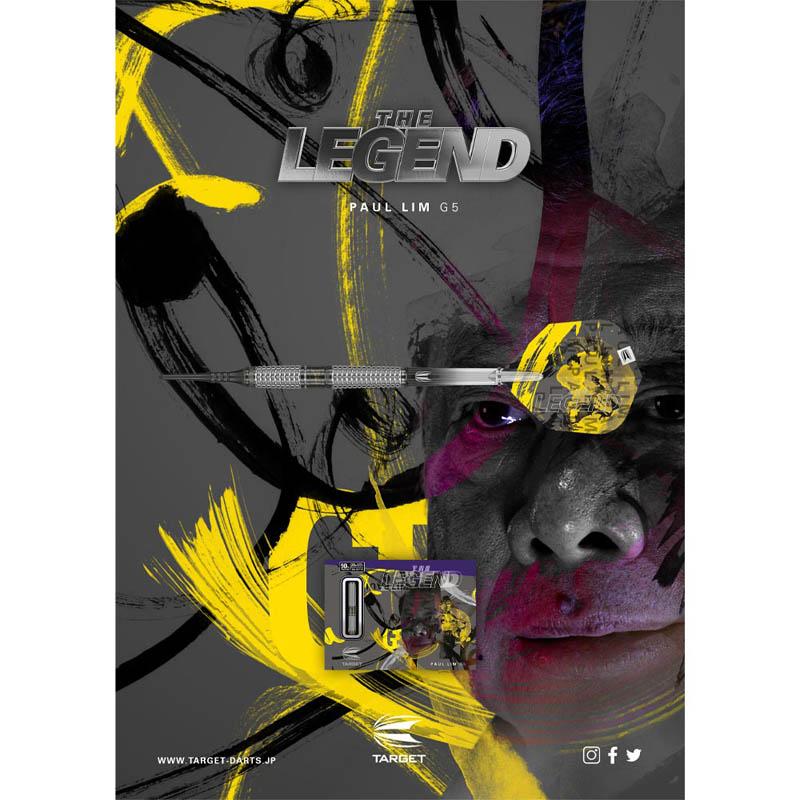 TARGET(ターゲット) THE LEGEND G5(ザ・レジェンド ジェネレーション5) 2BA <210146> ポール・リム選手モデル (ダーツ バレル)