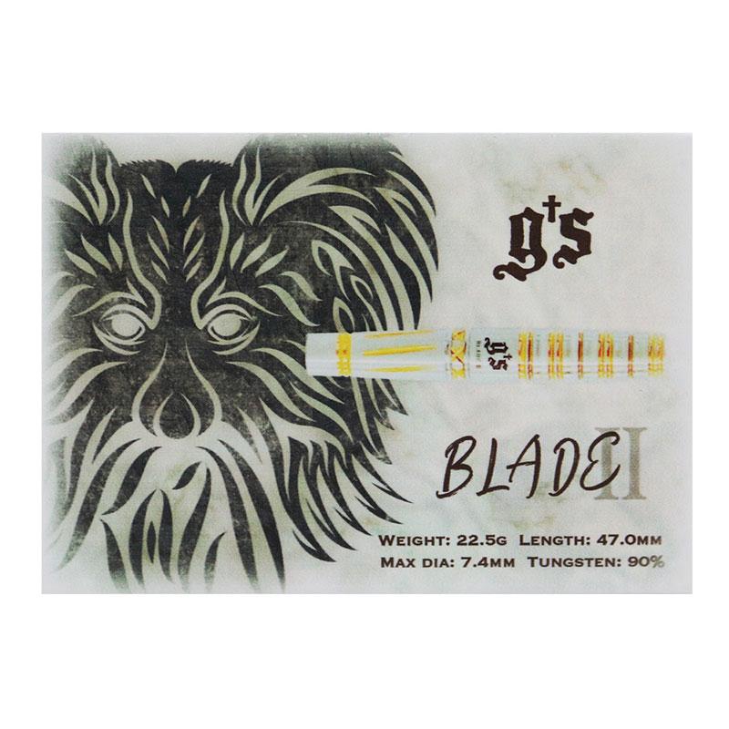 Gs Darts BLADE2 2BA 福井和希選手モデル (ダーツ バレル)