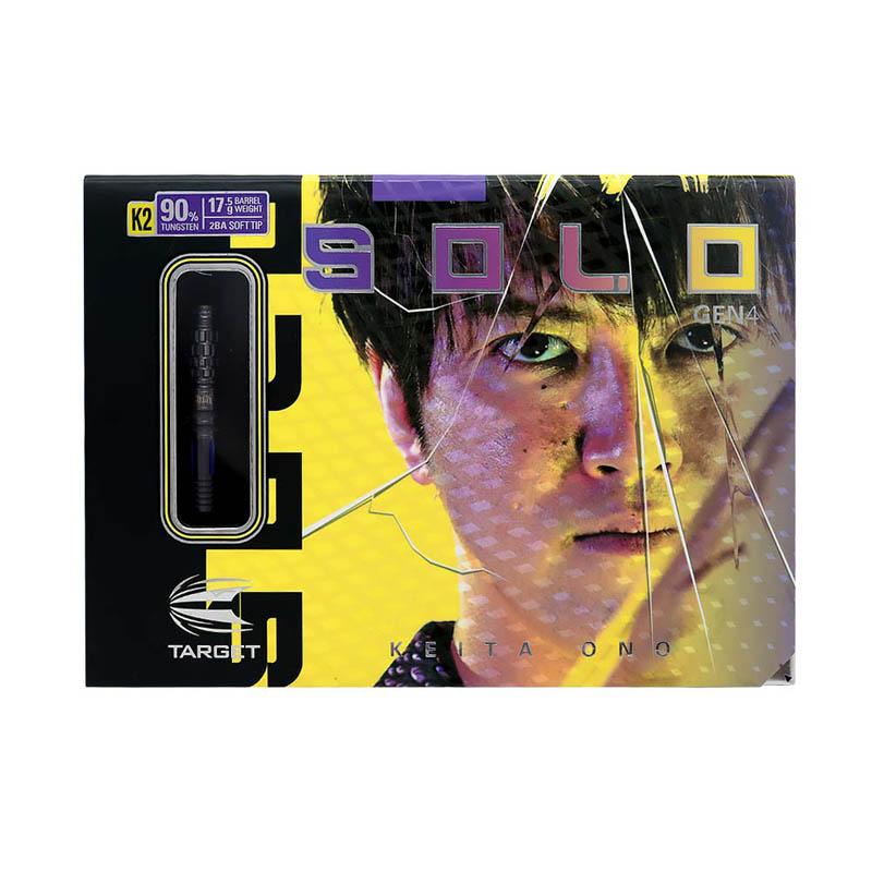 TARGET(ターゲット) SOLO G4(ソロ ジェネレーション4) K2 2BA <210148> 小野恵太選手モデル (ダーツ バレル)【◆◆】