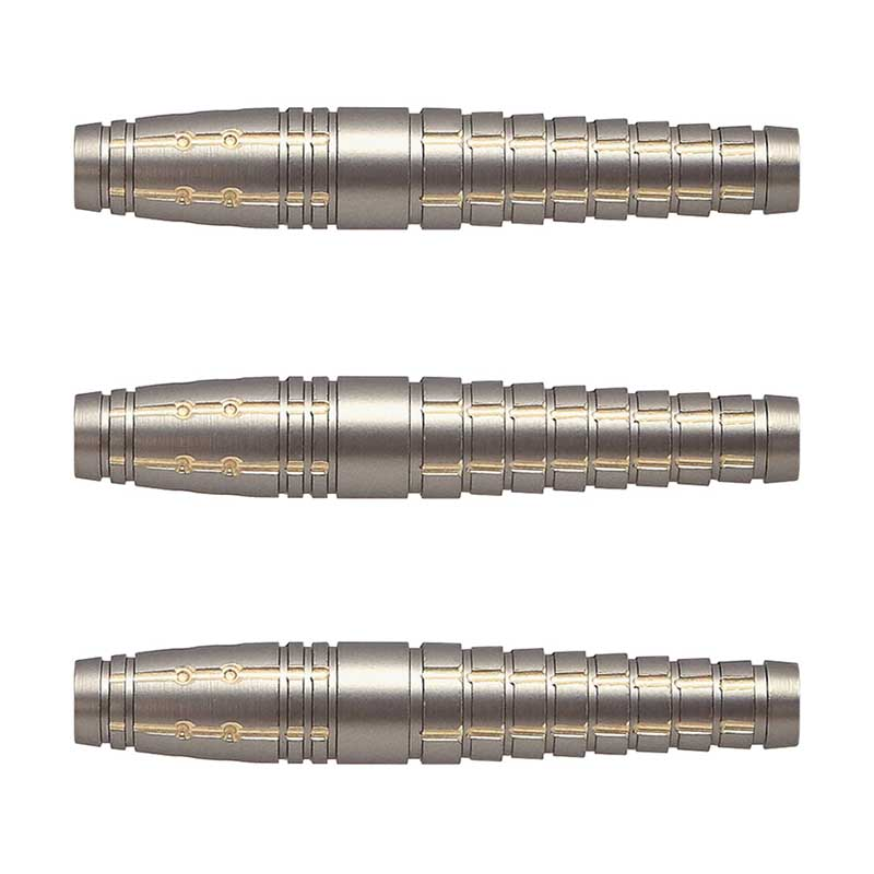 Harrows(ハローズ) SARU KING(サルキング) BRASS 2BA 鈴木猛大選手モデル (ダーツ バレル)