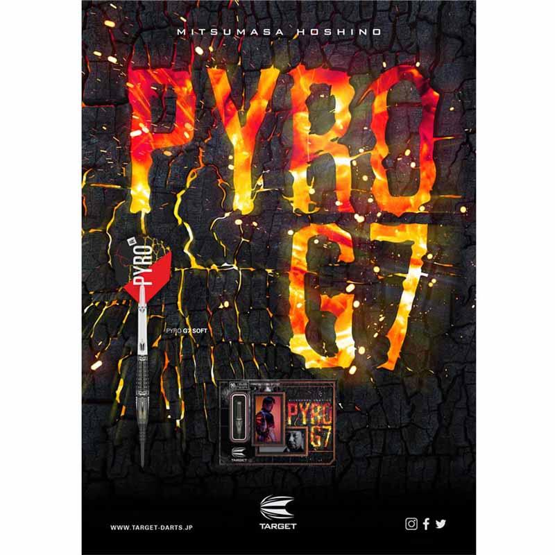 TARGET(ターゲット) PYRO G7(パイロ ジェネレーション7) 2BA <210114> 星野光正選手モデル (ダーツ バレル)
