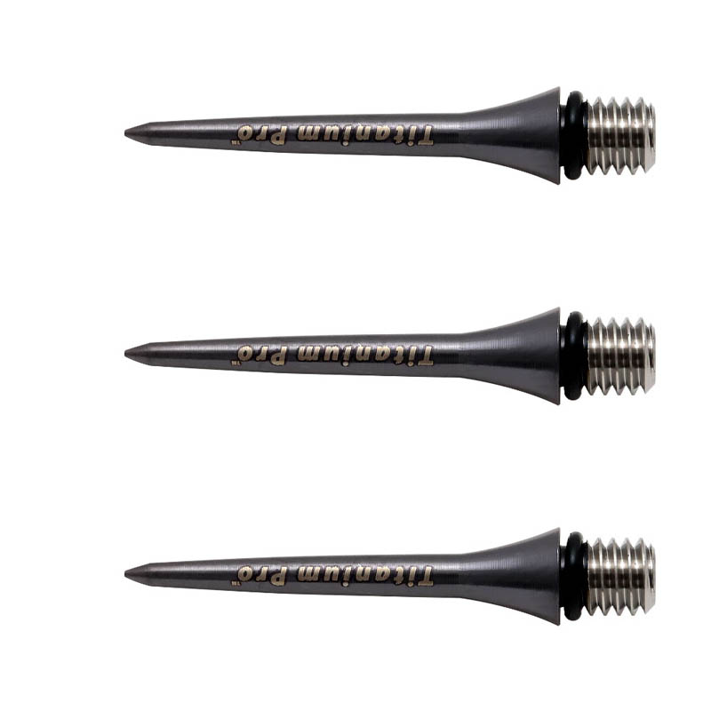 TARGET Titanium Conversion Point 26mm Black <109900> 【ターゲット コンバージョン ポイント ブラック ソフトダーツ
