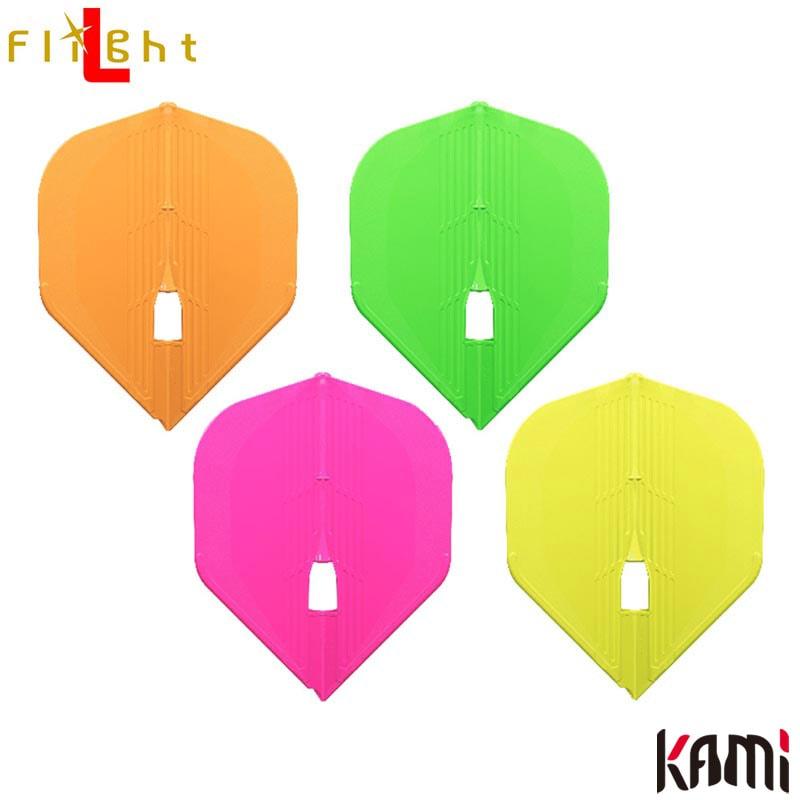 L-style(エルスタイル) L-Flight PRO KAMI(エルフライトプロ カミ) Neon(ネオン) スタンダード (ダーツ フライト)