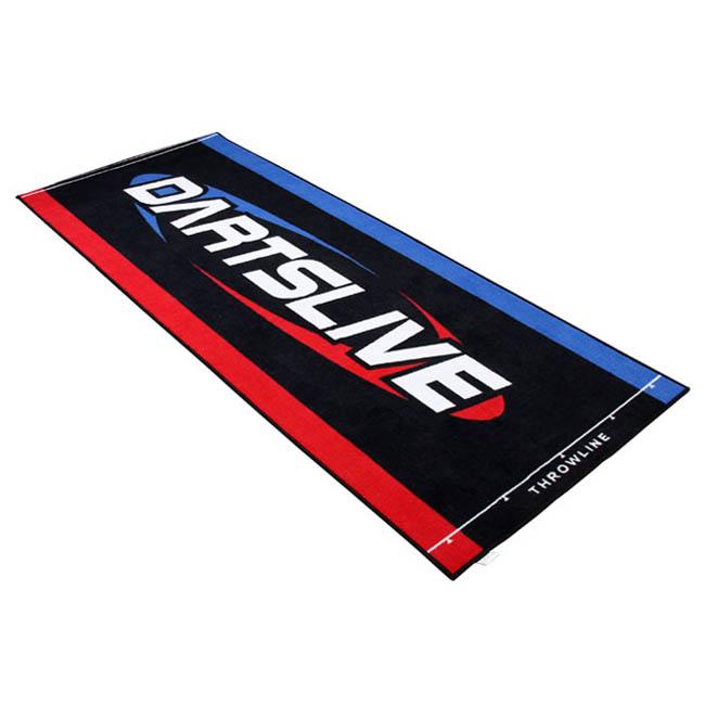 防炎ラベル付 DARTSLIVE(ダーツライブ)スローマット (ダーツマット)