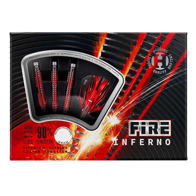 Harrows(ハローズ) FIRE INFERNO(ファイア インフェルノ) 2BA 18gR (ダーツ バレル)