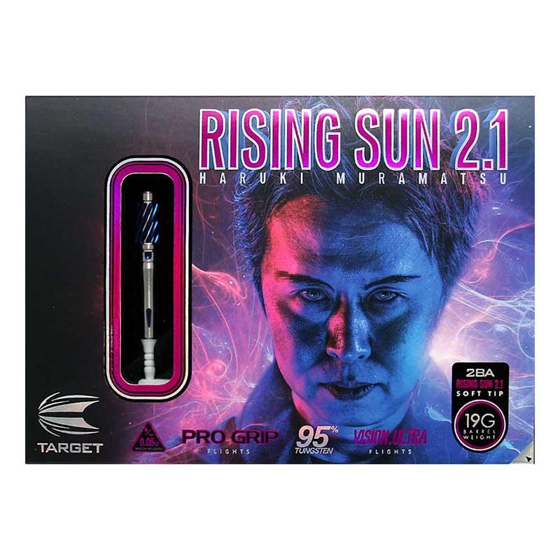 TARGET(ターゲット) RISING SUN 2.1(ライジングサン2.1) 2BA 100736 村松治樹選手モデル (ダーツ バレル)