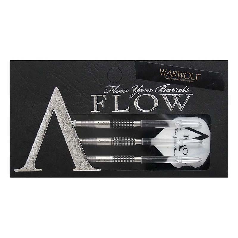 DYNASTY(ダイナスティ) A-FLOW BLACK LINE コ−ティングタイプ WARWOLF(ワーウルフ) 2BA 中村俊太郎選手モデル (ダーツ バレル)