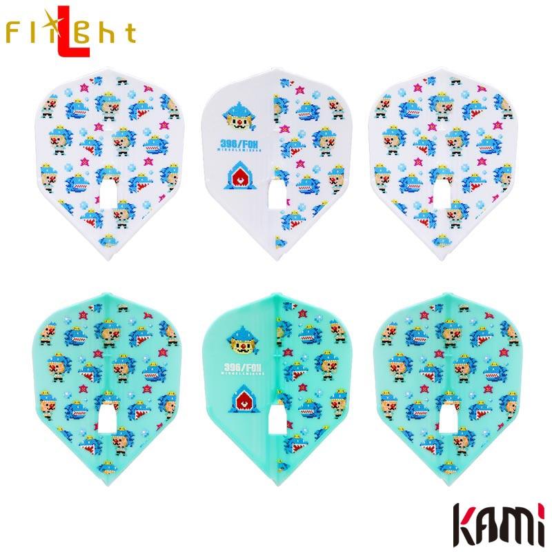 L-style(エルスタイル) L-Flight PRO KAMI(エルフライトプロ カミ) 鈴木未来 Ver.4 TYPE-A シェイプ (ダーツ フライト)
