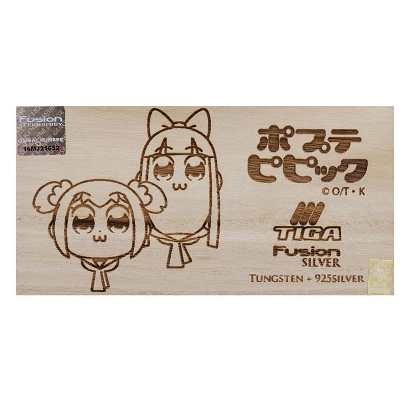 TIGA(ティガ) Fusion Silver × ポプテピピック 2BA (ダーツ バレル)