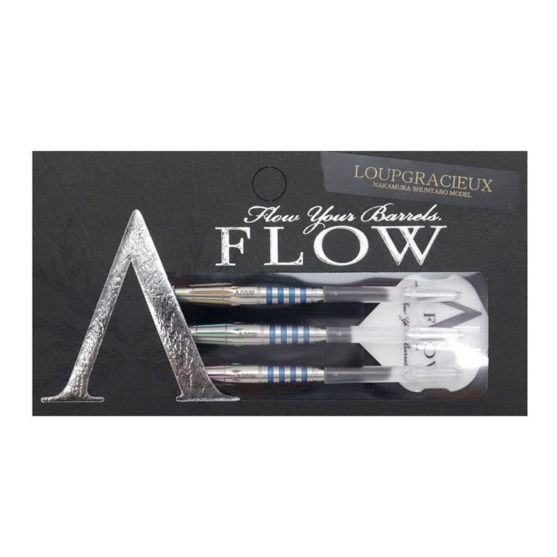 DYNASTY(ダイナスティー) A-FLOW BLACK LINE コーティング LOUPGRACIEUX(ルーグラシュー) 2BA 中村俊太郎選手モデル (ダーツ バレル)