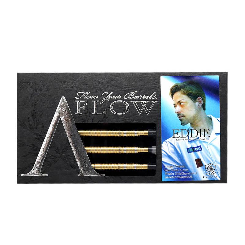 DYNASTY(ダイナスティー) A-FLOW BLACK LINE コーティングタイプ EDDIE GOLD(エディ ゴールド) 2BA エドワード・昌司・ファウルクス選手モデル (ダーツ バレル)【◆◆】