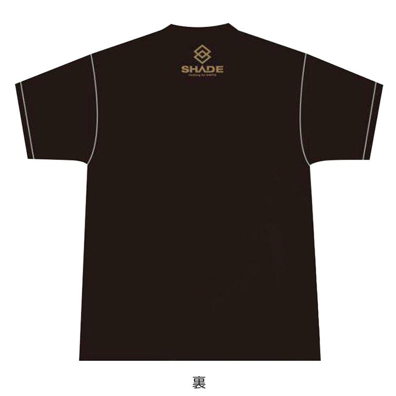 SHADE(シェイド) RADICAL HAWK 広瀬貴久選手コラボTシャツ ブラック (ダーツ アパレル)
