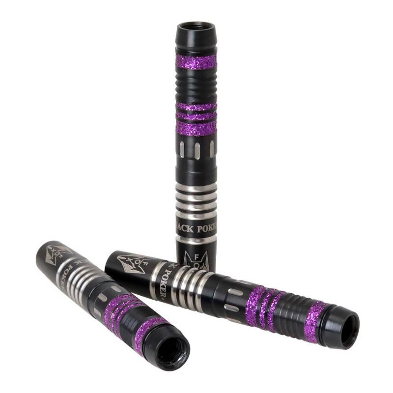 火の鳥 DARTS JAPAN(ヒノトリダーツジャパン) TOKYO BLACK POKER BARREL ブラックシルバー 85Tシリーズ FOX(キツネ) 2BA (ダーツ バレル)