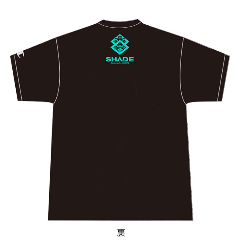 SHADE(シェイド) 鈴木未来選手 BDO2連覇記念Tシャツ (ダーツ アパレル)