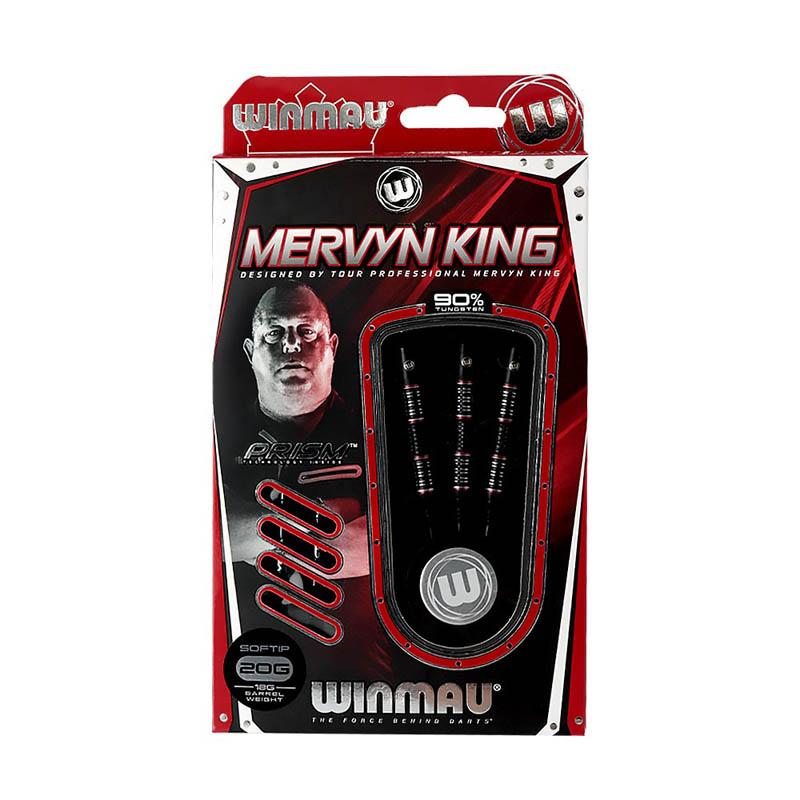 Winmau(ウィンモウ) Mervyn King Special Edition 2BA 20g マーヴィン・キング選手モデル (ダーツ バレル)