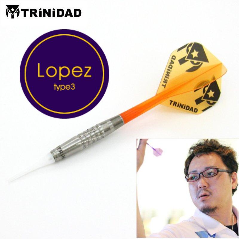 Lopez type3 ロペス タイプ3 浅田斉吾モデル [TRiNiDAD]