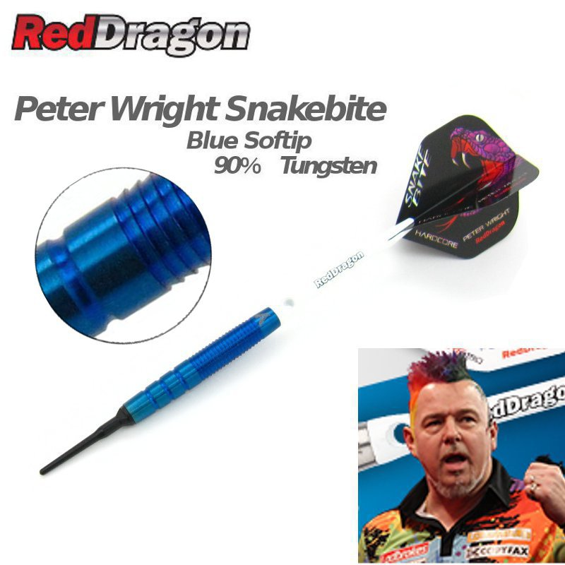 Peter Wright Snakebite PL15 BLUE SOFT ピーター・ライト スネークバイト [Red Dragon]