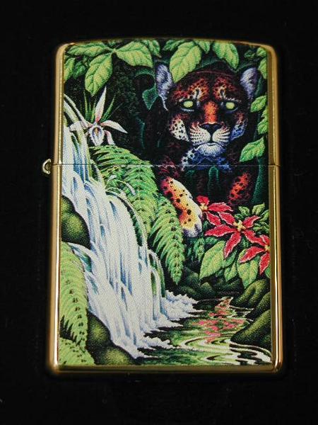 ジッポーライター: 2005 世界限定 Zippo Mysteries of the Forest // フォレスト 10周年 // ☆豪華!!☆ 【ギフト包装】 【ジッポ】 【ジッポー】 【ライター】 【ダルマヤ】