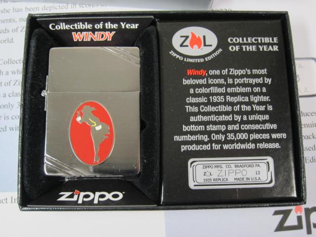 ジッポーライター: Zippo 1935 Windy ガール 世界限定品 //ウィンディー メタリケ// 2013 Collectible of The Year ★USA加工★ ♪お洒落♪【ギフト包装】 【ジッポ】 【ジッポー】 【限定】 【ライター】 【ダルマヤ】