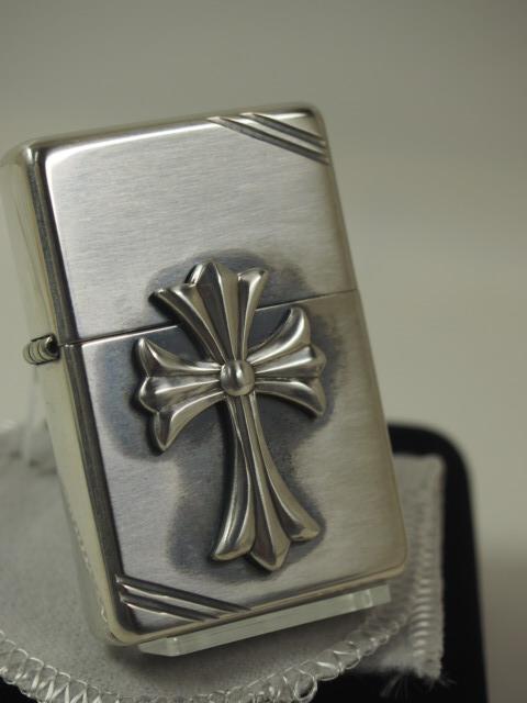 ジッポーライター: Zippo  純銀無垢 //スターリングシルバー クロス メタル 14 Cross1937☆豪華!!☆ 送料無料 【ギフト包装】 【父の日】 【ジッポ】 【ジッポー】 【ライター】 【ダルマヤ】