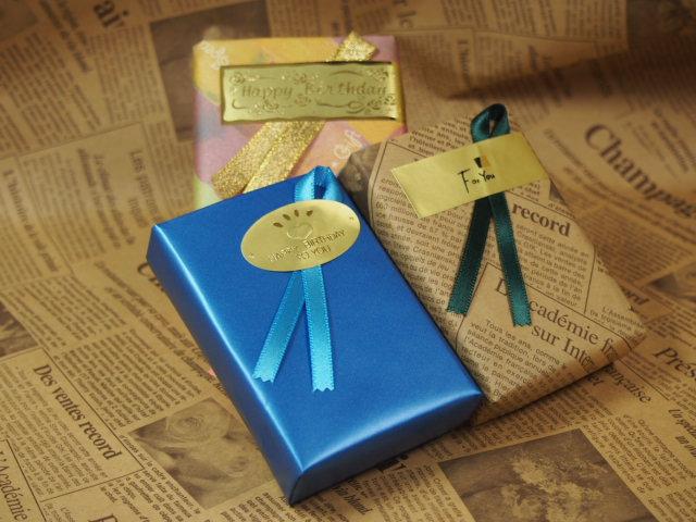◆ プレゼント ラッピング  【無料】:参考例